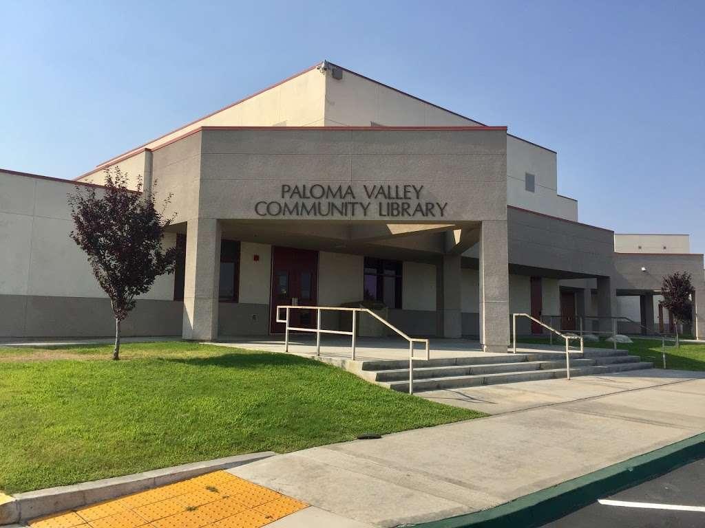 Paloma Valley Library - library  | Photo 1 of 4 | Address: 31375 Bradley Rd, Menifee, CA 92584, USA | Phone: (951) 301-3682