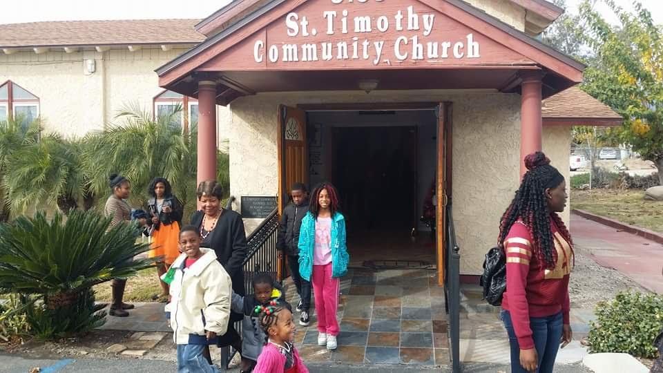 St Timothy Community Church - church    Photo 2 of 3   Address: 3100 N State St, Muscoy, CA 92407, USA   Phone: (909) 887-3015