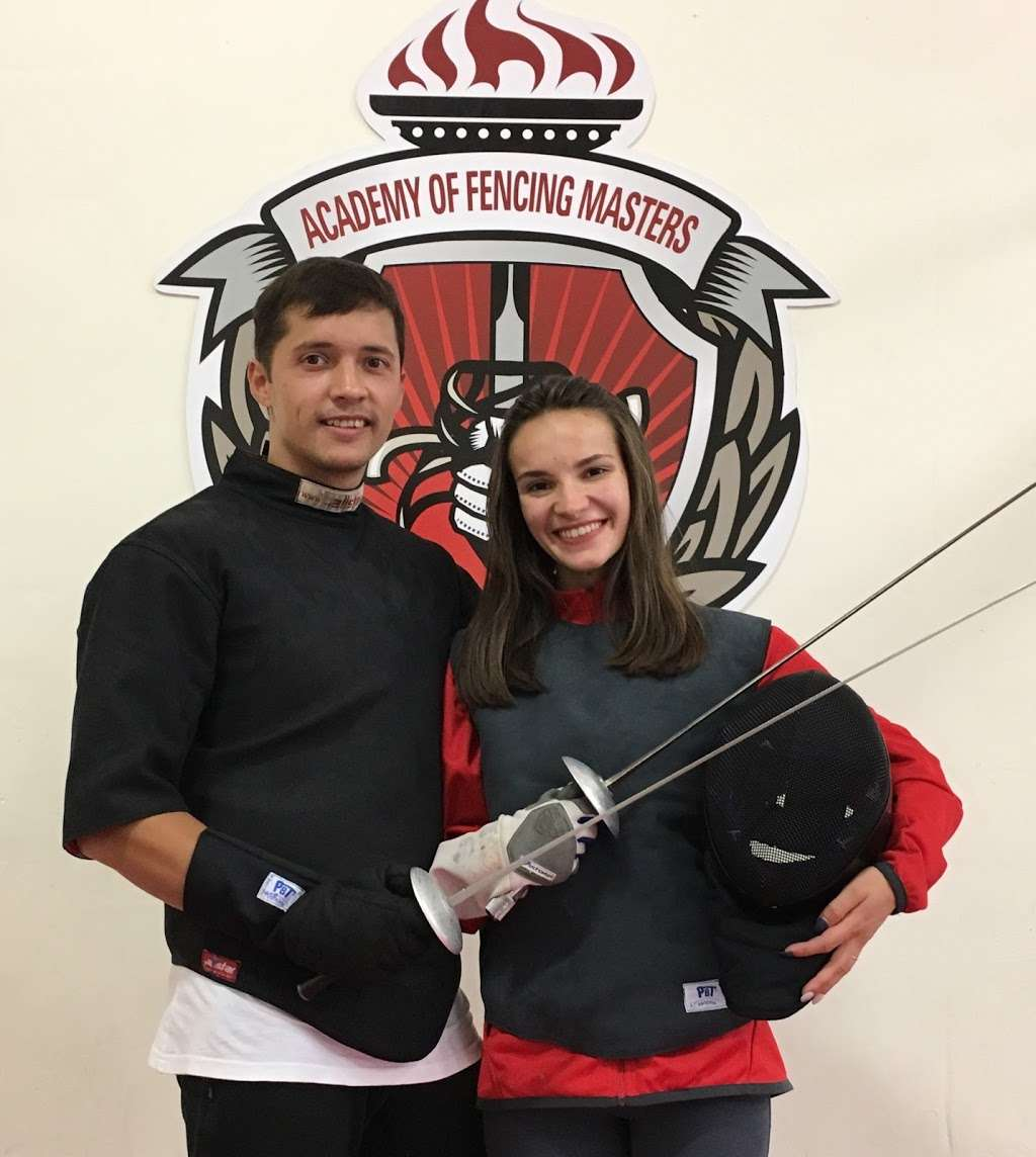 Academy of Fencing Masters - health    Photo 6 of 10   Address: 1269 Forgewood Ave, Sunnyvale, CA 94089, USA   Phone: (408) 542-9580