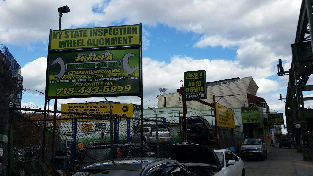 Model A Transmission & Auto Repair - car repair  | Photo 3 of 5 | Address: 1173 Myrtle Ave, Brooklyn, NY 11221, USA | Phone: (718) 443-5959