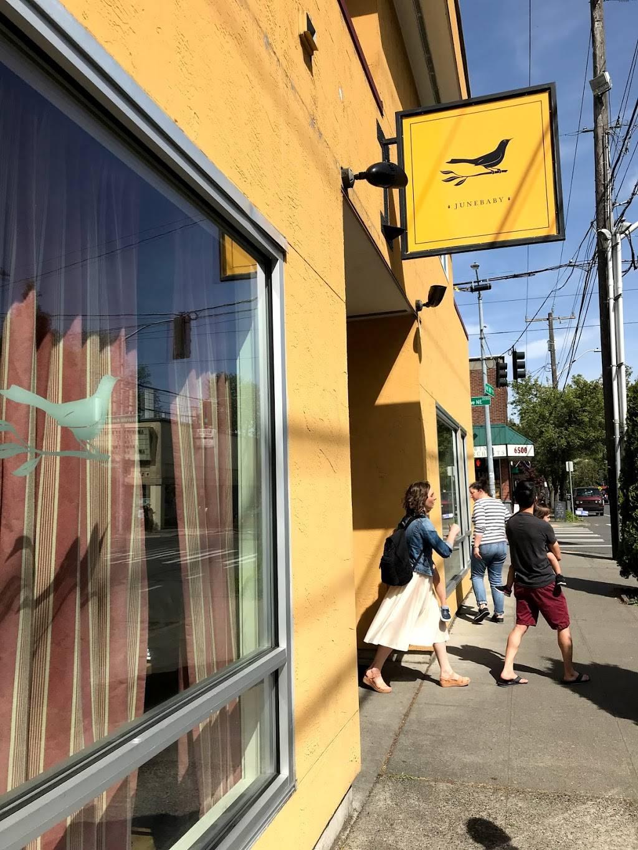 JuneBaby - restaurant    Photo 1 of 10   Address: 2122 NE 65th St, Seattle, WA 98115, USA   Phone: (206) 257-4470