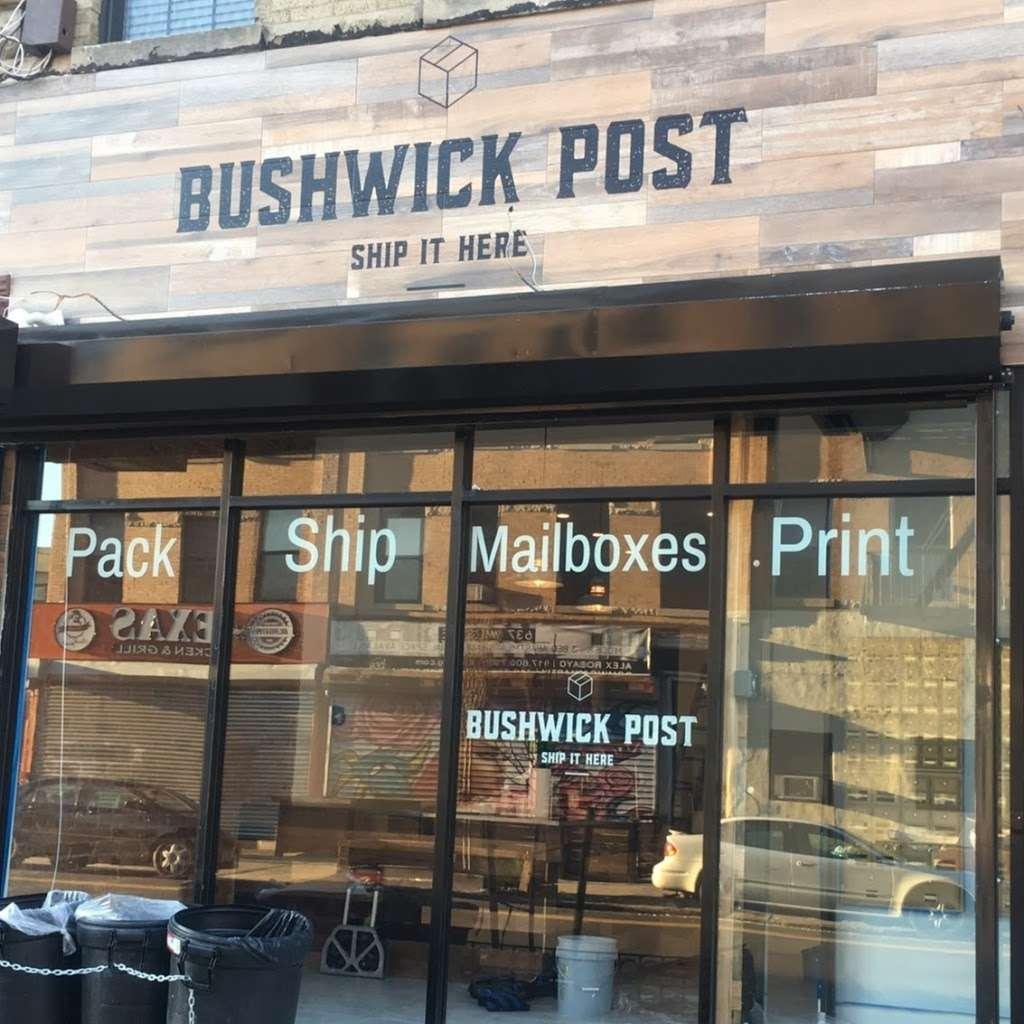 Bushwick Post - post office    Photo 6 of 10   Address: 620 Wilson Ave, Brooklyn, NY 11207, USA   Phone: (718) 676-4336