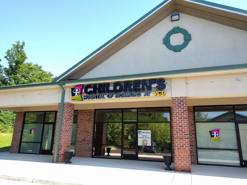 Childrens Hospital of Richmond at VCU Stafford Therapy Center - health  | Photo 2 of 2 | Address: 2781 Jefferson Davis Hwy Suite 103, Stafford, VA 22554, USA | Phone: (540) 659-7337