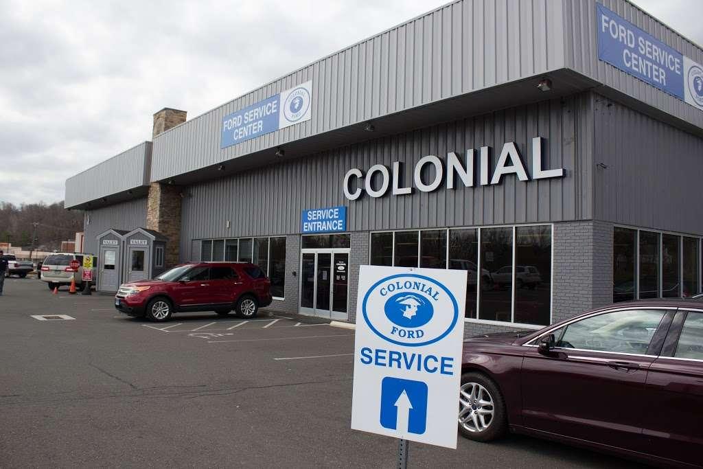 Colonial Ford Danbury Ct >> Colonial Ford Service Center Car Repair 120 Federal Rd Danbury