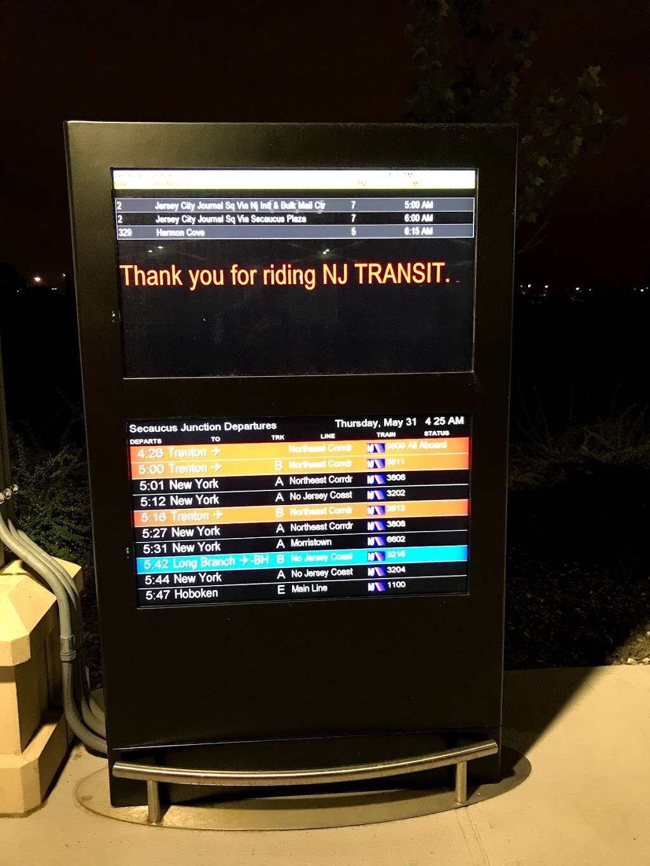 Secaucus, NJ, Frank. J Lautenberg Station at Secaucus Junction - bus station  | Photo 7 of 9 | Address: Secaucus, NJ 07097, USA