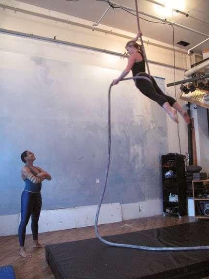 Kiebpoli Aerial Class - gym  | Photo 1 of 1 | Address: 338 Moffat St, Brooklyn, NY 11237, USA | Phone: (347) 927-1270