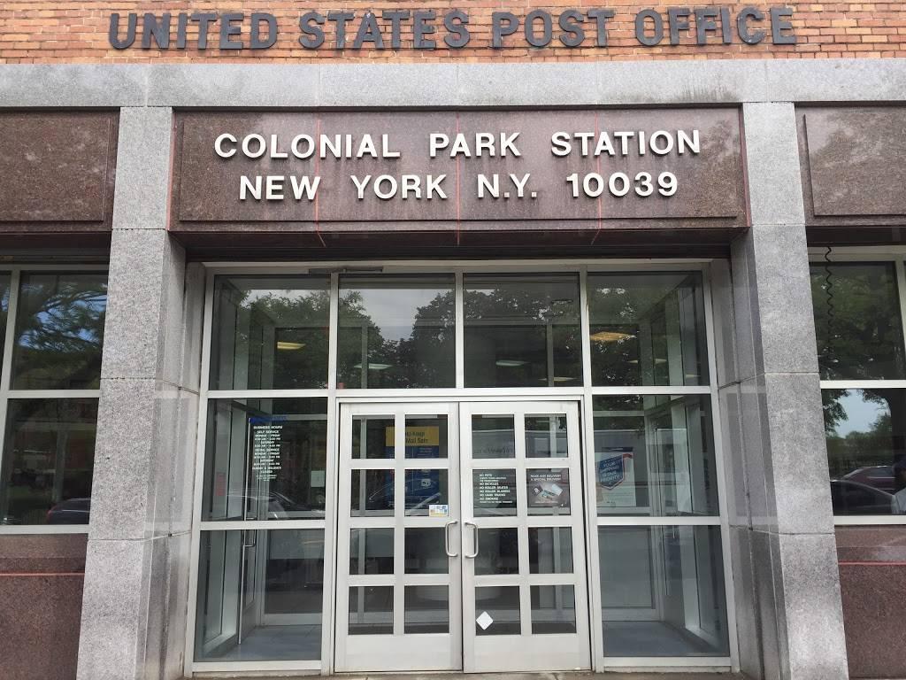 United States Postal Service - post office    Photo 10 of 10   Address: 99 Macombs Pl, New York, NY 10039, USA   Phone: (800) 275-8777