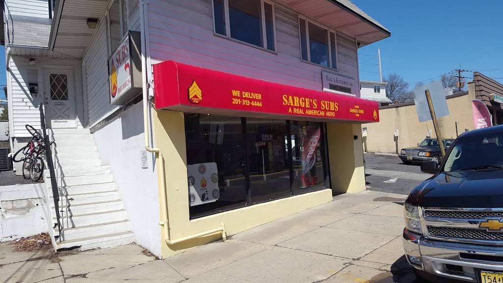 Sarges Subs - meal delivery    Photo 1 of 5   Address: 451 Palisade Ave, Cliffside Park, NJ 07010, USA   Phone: (201) 313-4444