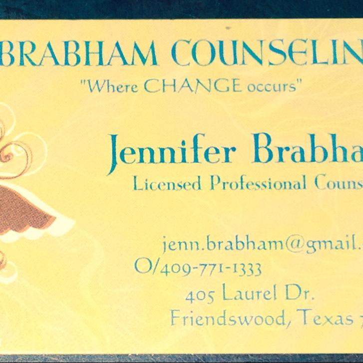 Jennifer A. Brabham, LPC - doctor  | Photo 8 of 8 | Address: 405 Laurel Dr, Friendswood, TX 77546, USA | Phone: (832) 721-9819