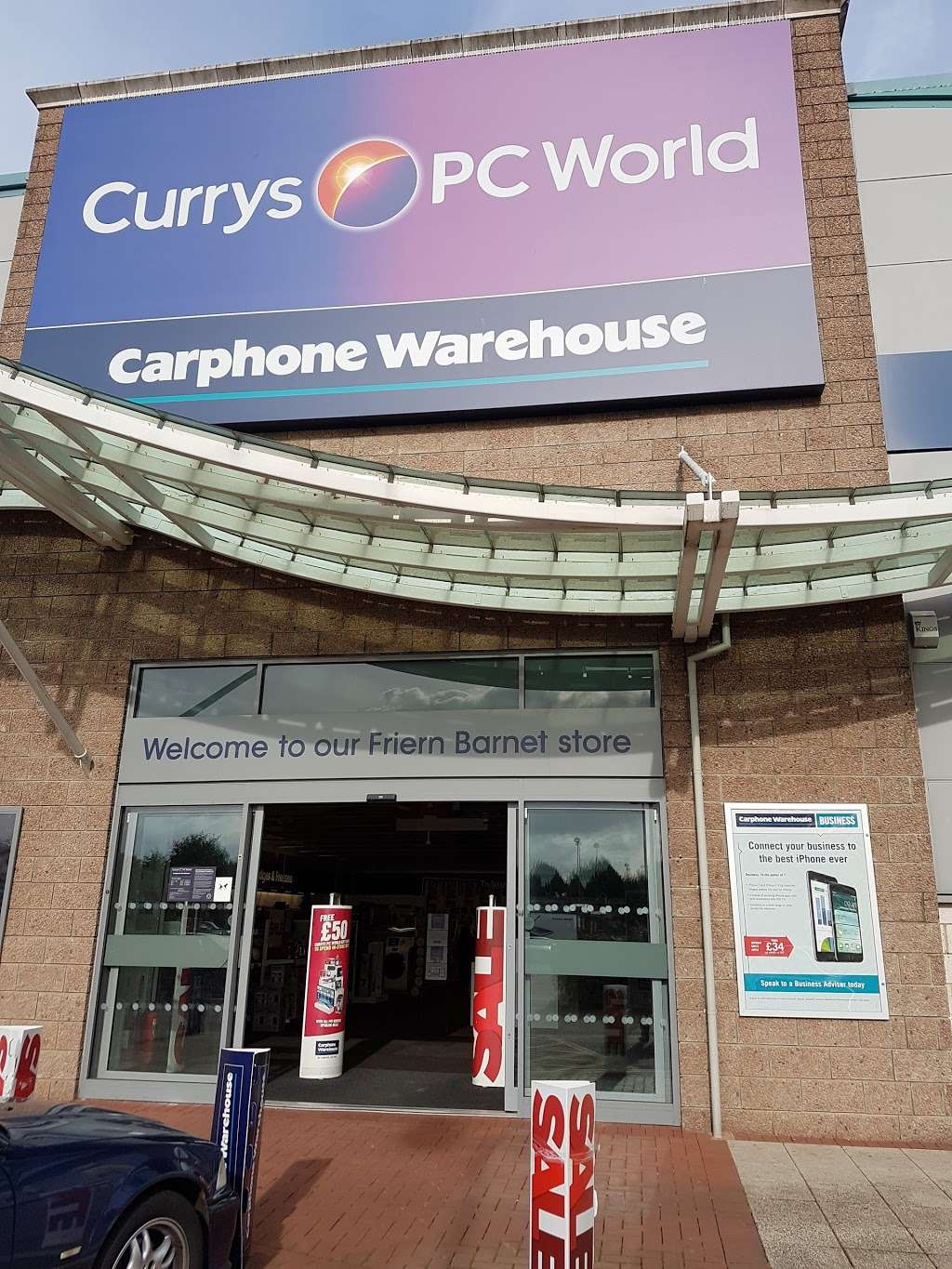 Currys PC World featuring Carphone Warehouse - Electronics store