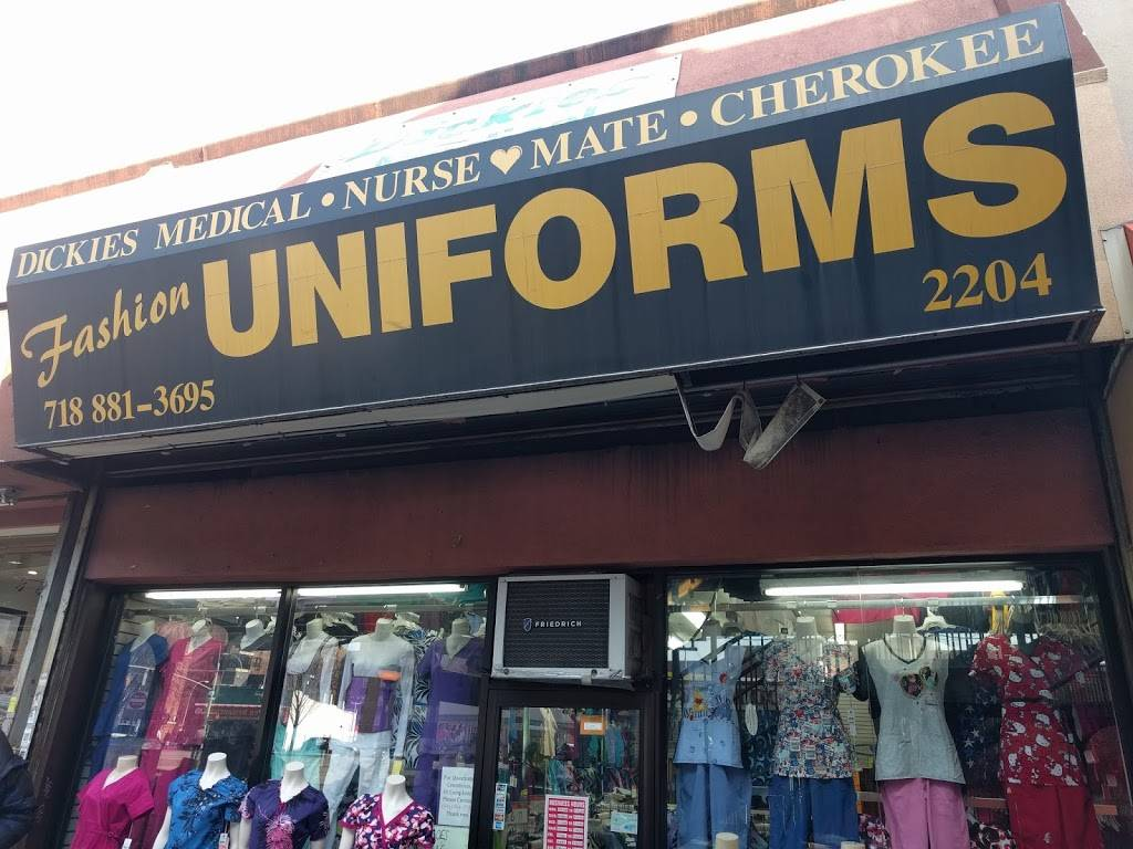 Fashion Uniforms - clothing store    Photo 1 of 9   Address: 2204 White Plains Rd, The Bronx, NY 10467, USA   Phone: (718) 881-3695