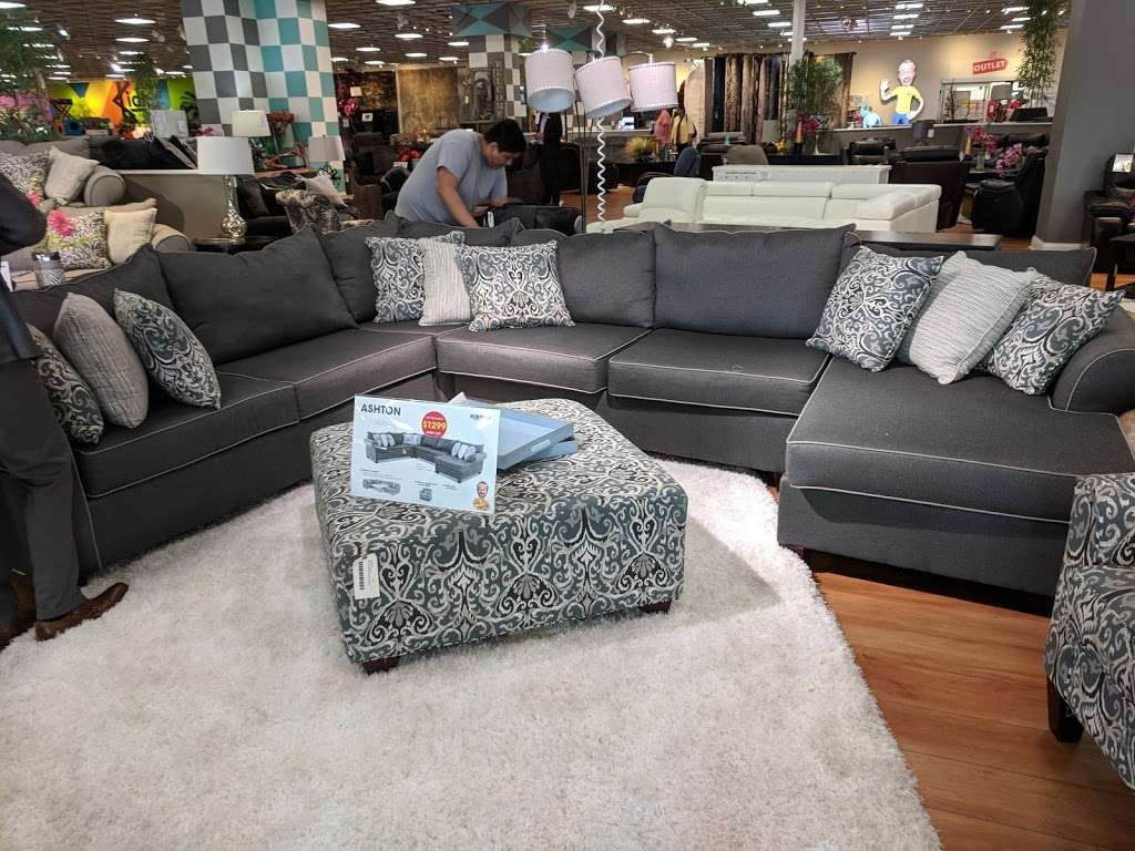 Bobs Discount Furniture - furniture store  | Photo 8 of 10 | Address: 3 Mill Creek Dr, Secaucus, NJ 07094, USA | Phone: (201) 643-1370
