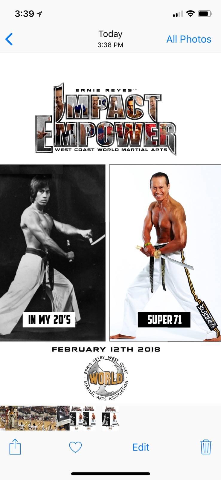 Ernie Reyes West Coast World Martial Arts - gym    Photo 7 of 8   Address: 1297 Baring Blvd, Sparks, NV 89434, USA   Phone: (775) 331-1669