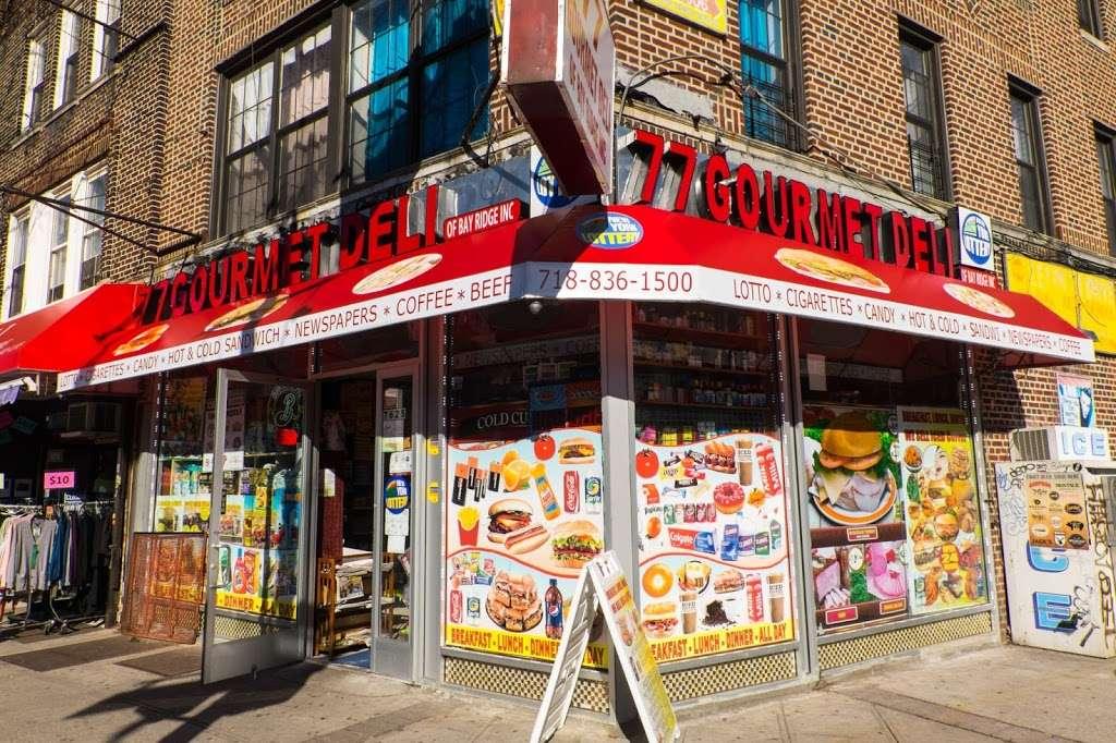 77 Gourmet Deli - store  | Photo 2 of 10 | Address: 7625 5th Ave, Brooklyn, NY 11209, USA | Phone: (718) 836-1500