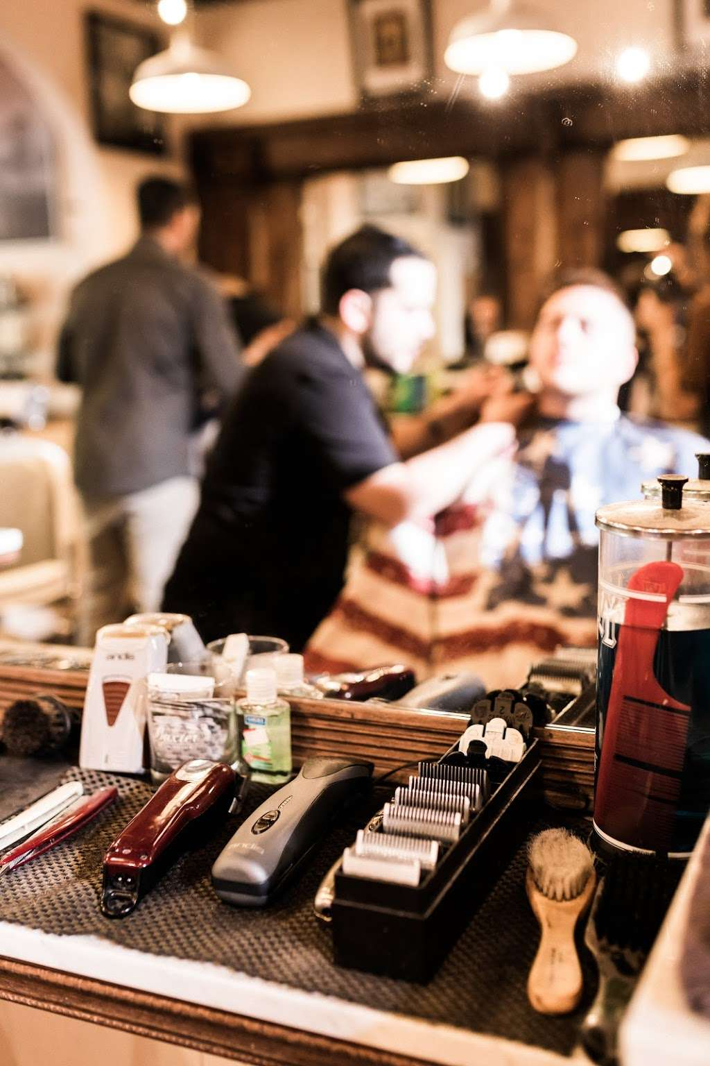 Classic Man Cut & Shave (Soho) - hair care  | Photo 8 of 10 | Address: 64 Macdougal St, New York, NY 10012, USA | Phone: (646) 850-1888