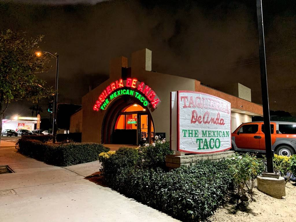 Taqueria De Anda - restaurant  | Photo 1 of 8 | Address: 308 W Valencia Dr, Fullerton, CA 92832, USA | Phone: (714) 871-4211