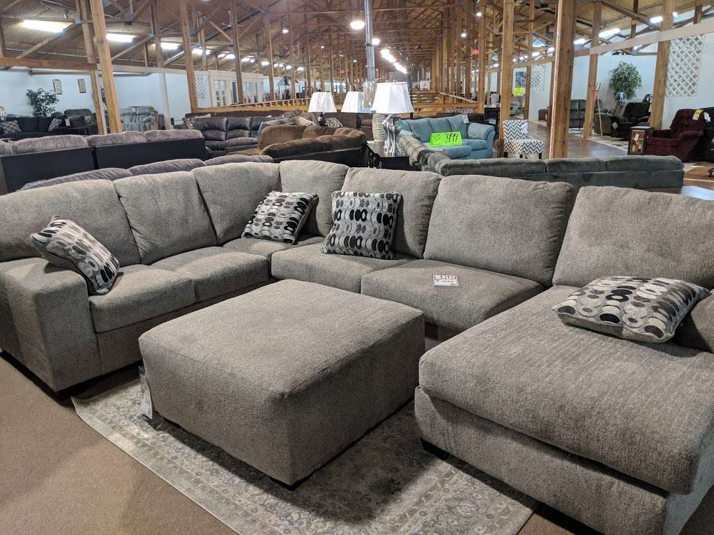 Interstate 69 Furniture - furniture store  | Photo 9 of 9 | Address: 9200 Traders Village Way, Daleville, IN 47334, USA | Phone: (765) 405-1836