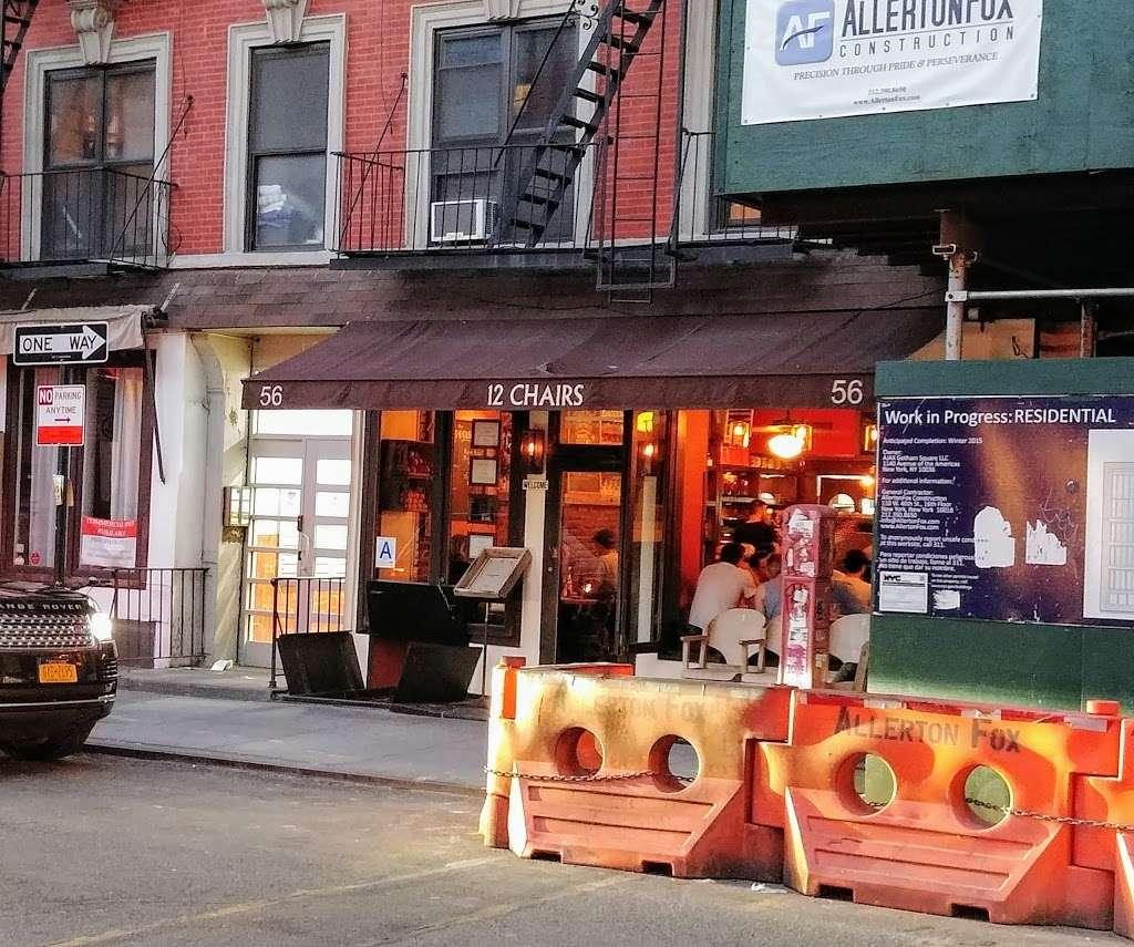 12 Chairs Cafe - restaurant  | Photo 3 of 10 | Address: 56 Macdougal St # B, New York, NY 10012, USA | Phone: (212) 254-8640