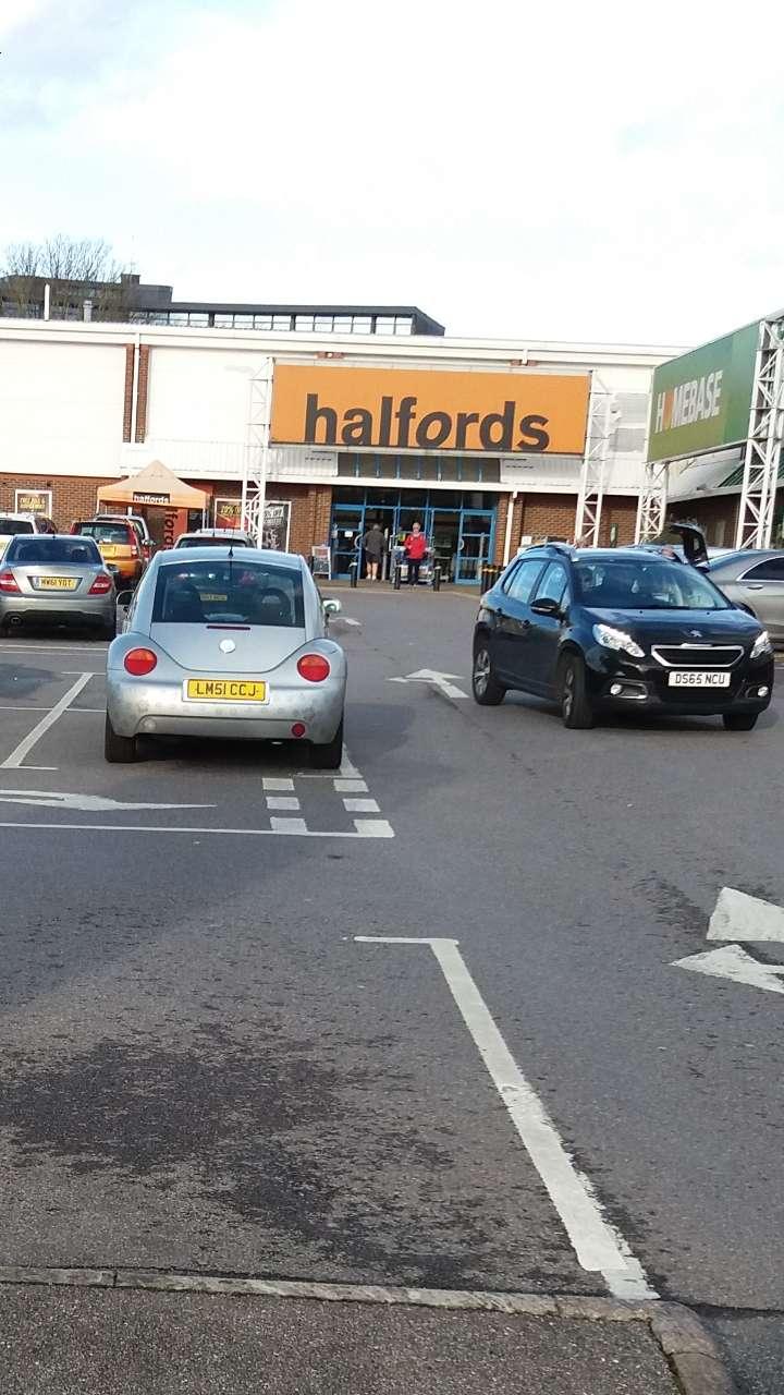 Halfords - bicycle store    Photo 5 of 9   Address: Sevenoaks Retail Park, Old Otford Rd, Sevenoaks TN14 5EW, UK   Phone: 01732 454148