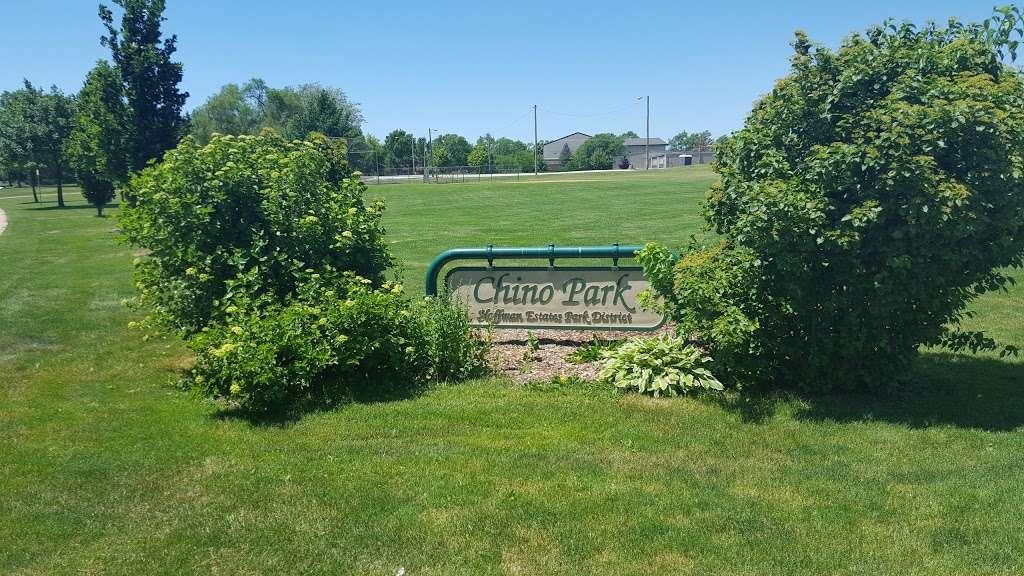 Chino Park - park  | Photo 1 of 10 | Address: 630 Illinois Blvd, Hoffman Estates, IL 60169, USA | Phone: (847) 885-7500