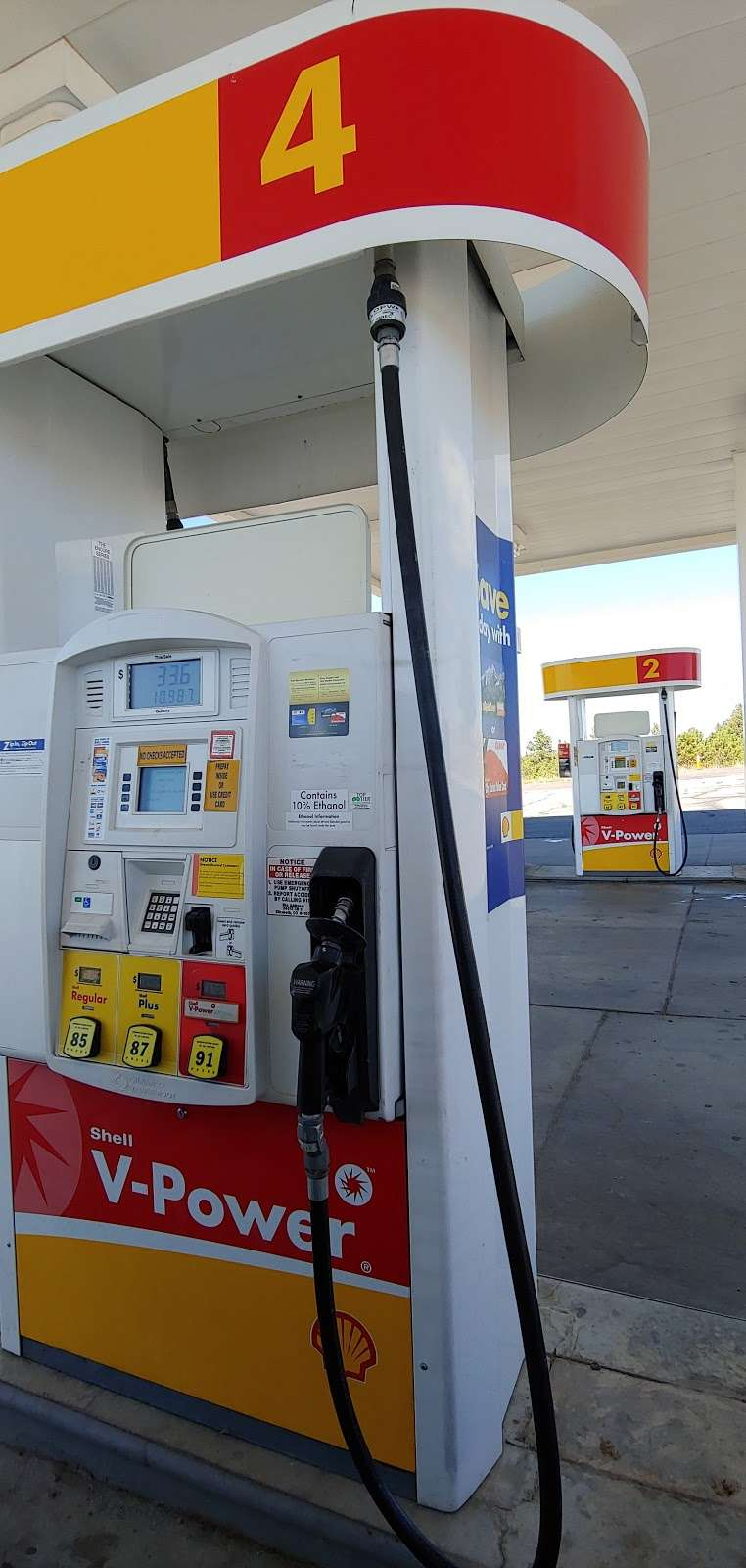 Shell - gas station    Photo 5 of 9   Address: 34013 Co Rd 13, Elizabeth, CO 80107, USA   Phone: (303) 646-4778