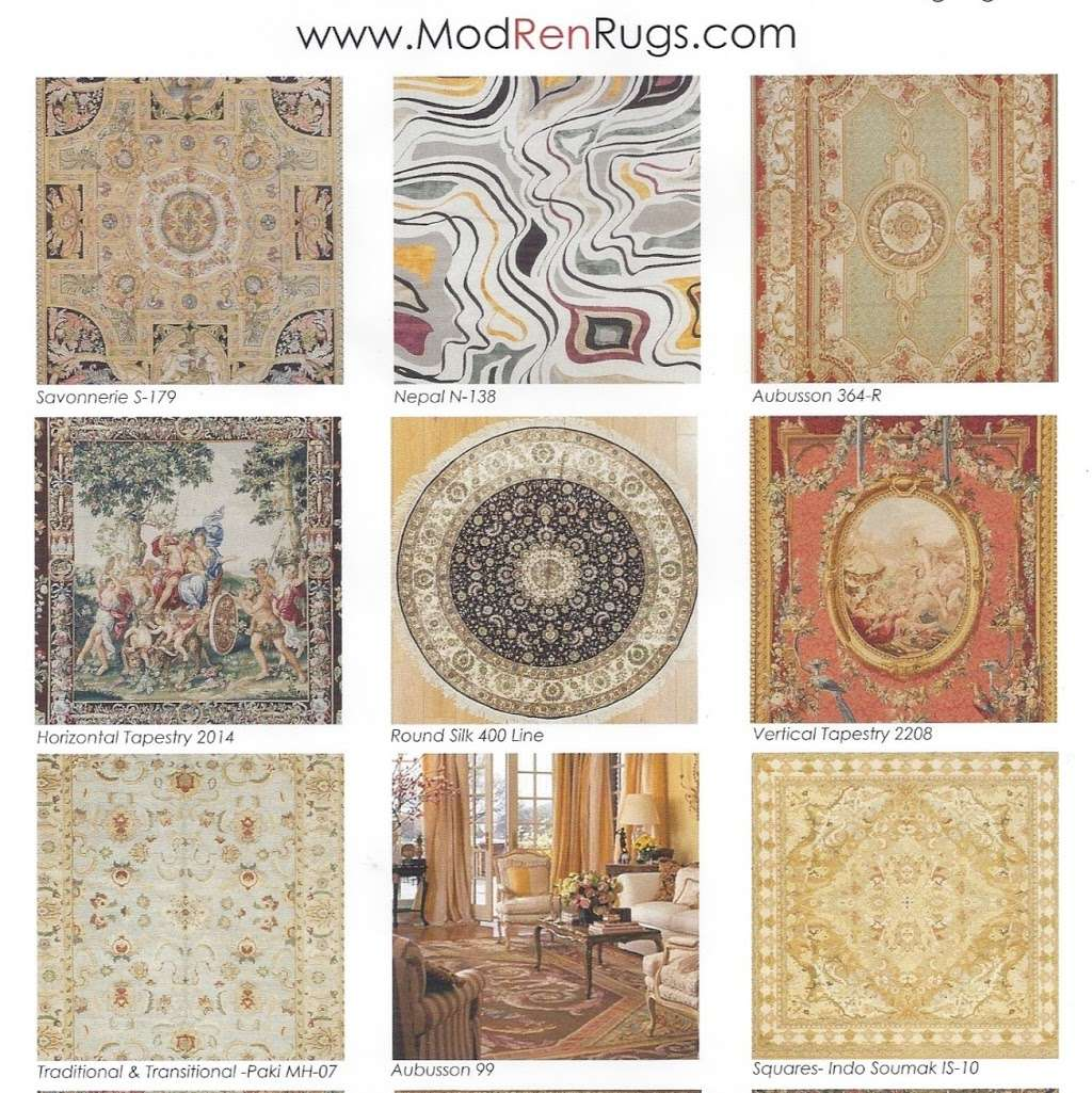 ModRen Rugs Inc Aubusson Savonnerie Tapestry - home goods store  | Photo 5 of 7 | Address: 505 Windsor Dr, Secaucus, NJ 07094, USA | Phone: (201) 866-0909