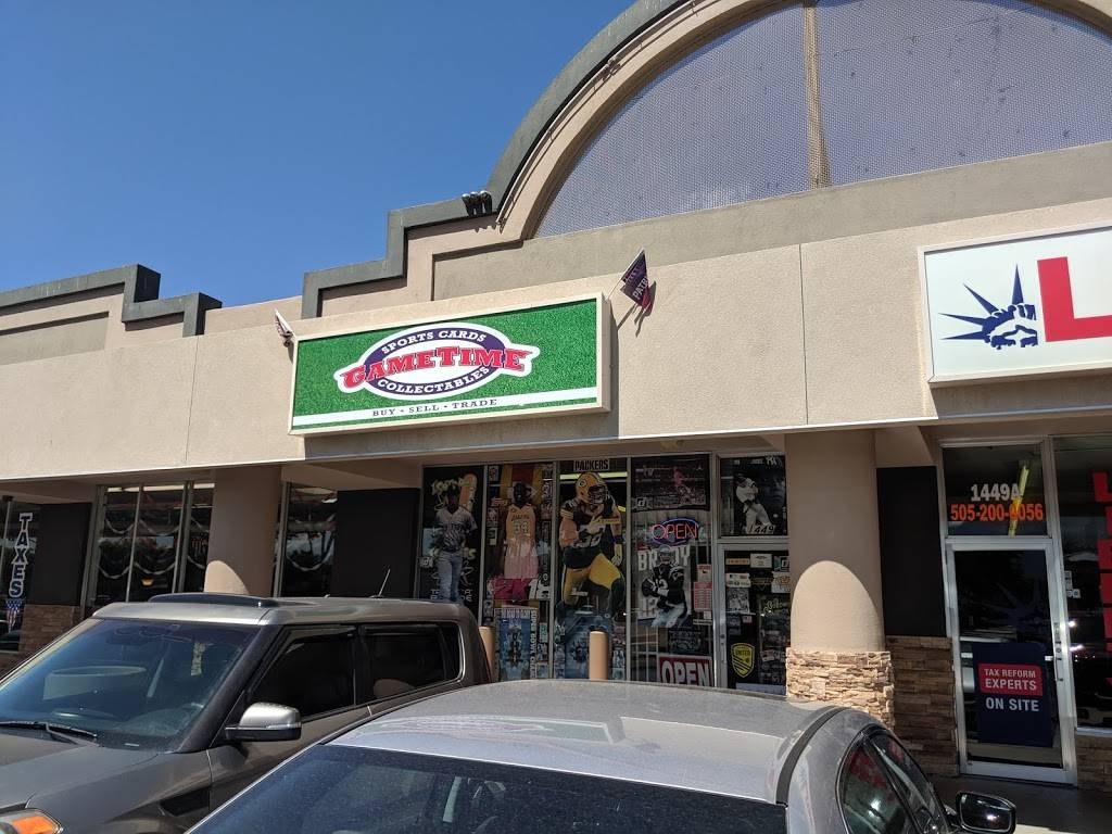 GameTime Sports Cards & Collectables - store  | Photo 1 of 10 | Address: 1449 Eubank Blvd NE, Albuquerque, NM 87112, USA | Phone: (505) 294-3087