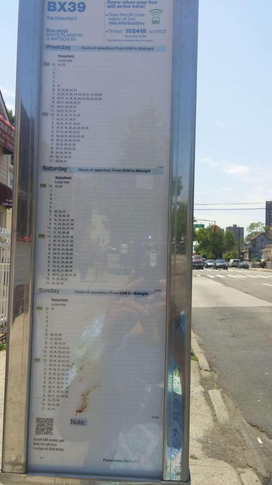White Plains Rd/watson Av - bus station  | Photo 1 of 1 | Address: Bronx, NY 10472, USA