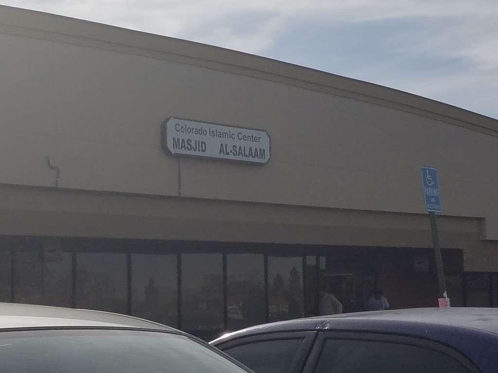 Masjid Al-Salam (Colorado Islamic Center) - mosque    Photo 5 of 6   Address: 16786 E Iliff Ave, Aurora, CO 80013, USA   Phone: (303) 353-9392