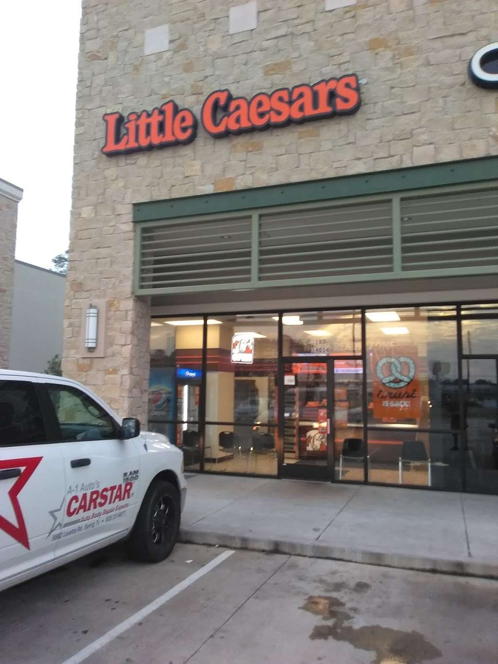 Little Caesars Pizza - meal takeaway  | Photo 2 of 10 | Address: 14034 Grant Rd, Cypress, TX 77429, USA | Phone: (281) 255-2709