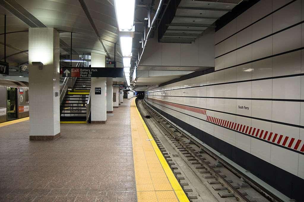 South Ferry Station - transit station  | Photo 3 of 10 | Address: New York, NY 10004, USA