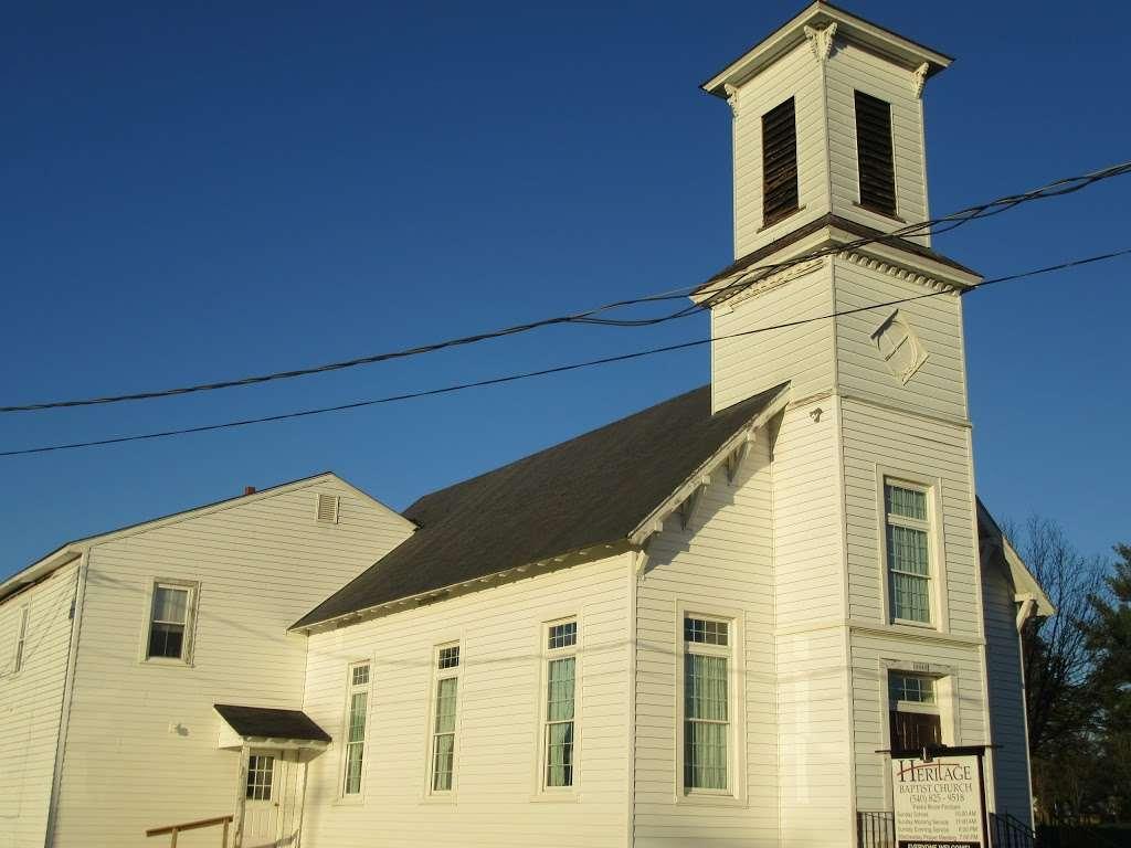 Heritage Baptist Church - church    Photo 2 of 2   Address: 19343 Carpenters Branch Rd, Brandy Station, VA 22714, USA   Phone: (540) 825-9518
