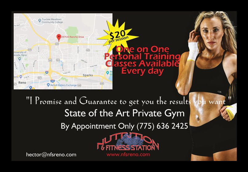Nutrition and Fitness Station - gym  | Photo 8 of 9 | Address: 2975 El Rancho Dr, Reno, NV 89512, USA | Phone: (775) 636-2425