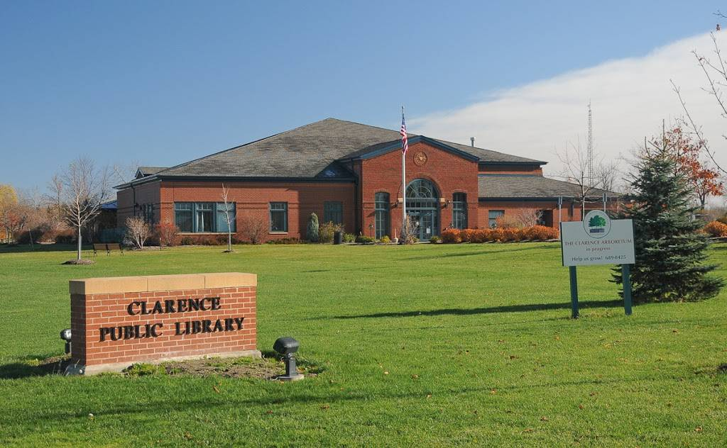 The Public Library of Clarence - library    Photo 1 of 6   Address: 3 Town Pl, Clarence, NY 14031, USA   Phone: (716) 741-2650
