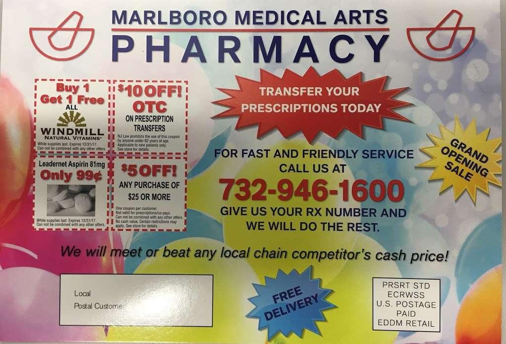 Marlboro Medical Arts Pharmacy - pharmacy  | Photo 9 of 10 | Address: 479 County Rd 520 A-102, Marlboro Township, NJ 07746, USA | Phone: (732) 946-1600
