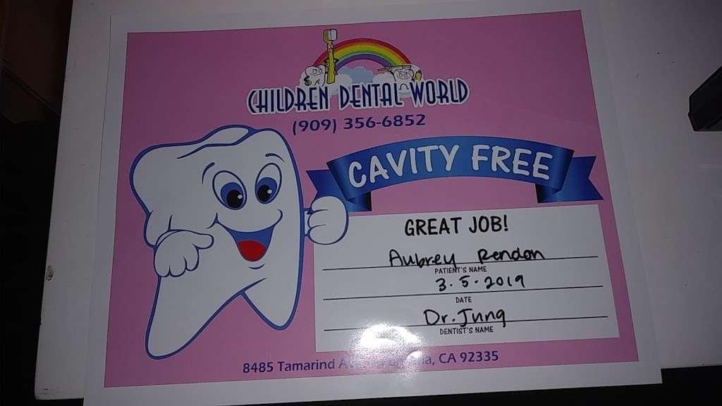 Children Dental World - dentist  | Photo 3 of 3 | Address: 8485 Tamarind Ave, Fontana, CA 92335, USA | Phone: (909) 356-6852