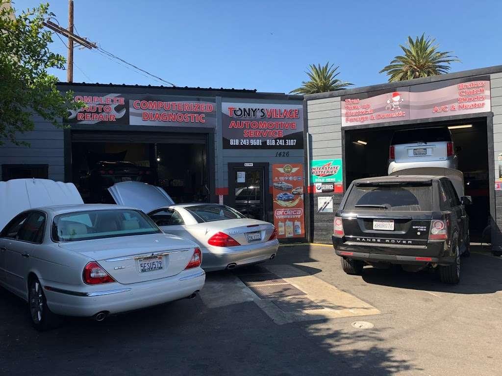 Tonys Village Automotive - car repair  | Photo 1 of 1 | Address: 1426 W Kenneth Rd, Glendale, CA 91201, USA | Phone: (818) 243-9681