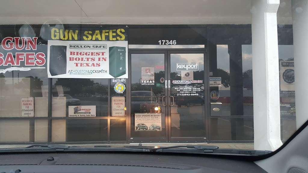 A2Z Houston Locksmith, LLC | 17346 Northwest Fwy, Houston, TX 77040, USA