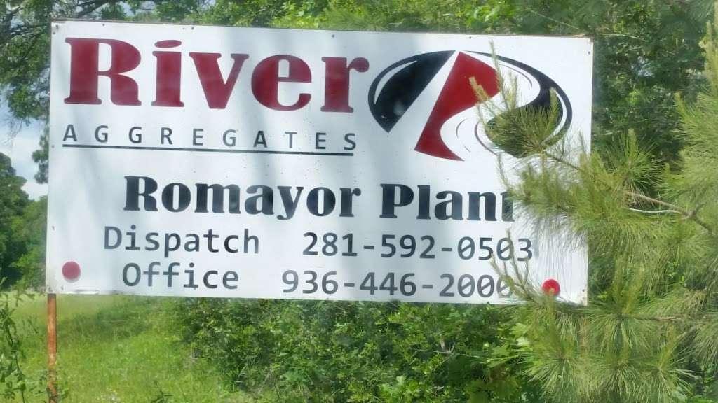 River Aggregates - store  | Photo 1 of 1 | Address: 5711 FM 787, Cleveland, TX 77327, USA | Phone: (281) 592-0503