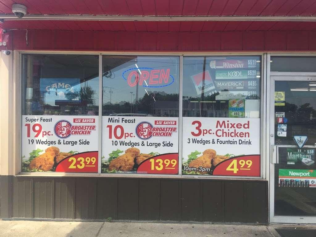 Lil Saver Broaster Chicken - gas station    Photo 3 of 10   Address: W, 393 US-6, Valparaiso, IN 46385, USA   Phone: (219) 763-2549
