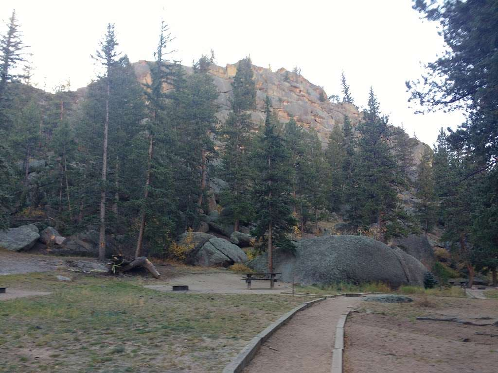 Spruce Grove Campground - campground  | Photo 1 of 10 | Address: Co Rd 77, Lake George, CO 80827, USA | Phone: (719) 836-2031