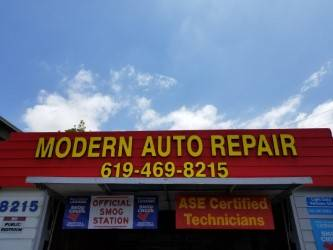 Modern Auto Repair Inc. - car repair  | Photo 6 of 10 | Address: 7586 North Ave, Lemon Grove, CA 91945, USA | Phone: (858) 222-7599