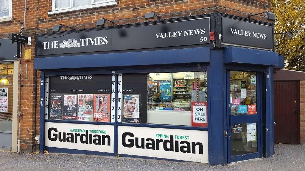 Valley News Newsagents - store  | Photo 2 of 3 | Address: 50 Station Way, Buckhurst Hill IG9 6LN, UK | Phone: 020 3720 3635