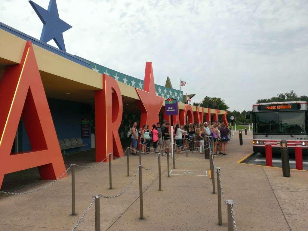 Disneys All-Star Movies Resort - bus station  | Photo 9 of 10 | Address: Directors Dr, Kissimmee, FL 34747, USA