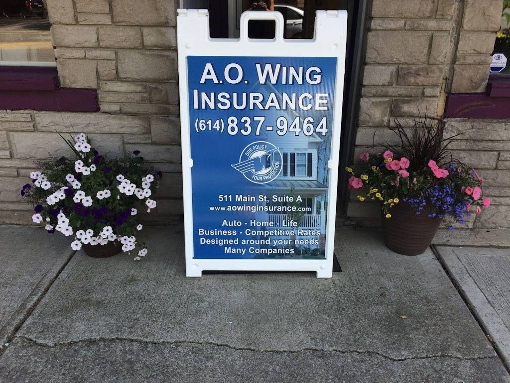 A.O. Wing Insurance Agency - insurance agency  | Photo 3 of 3 | Address: 750 Cross Pointe Rd Suite G, Gahanna, OH 43230, USA | Phone: (614) 837-9464