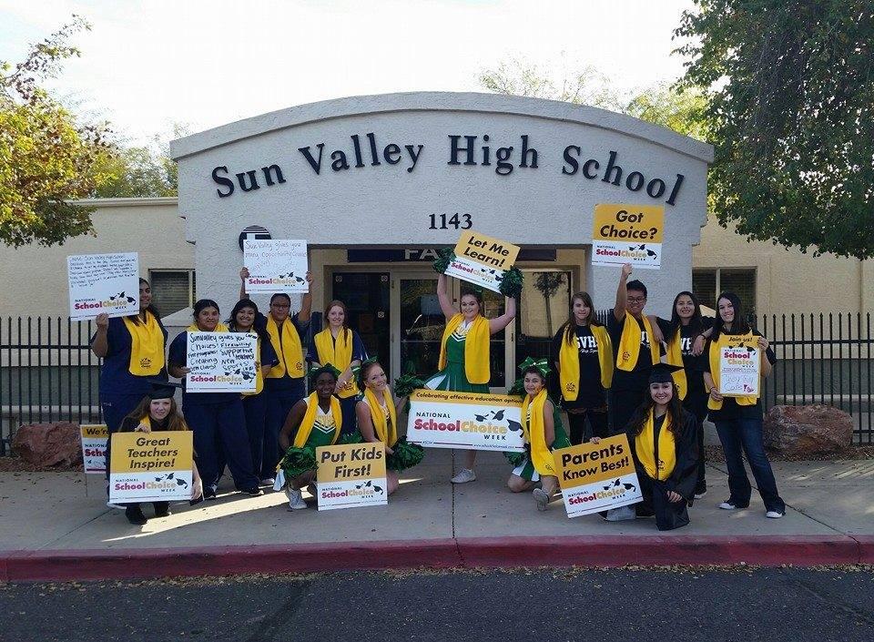 Sun Valley High School - school    Photo 1 of 2   Address: 1143 S Lindsay Rd, Mesa, AZ 85204, USA   Phone: (480) 497-4800