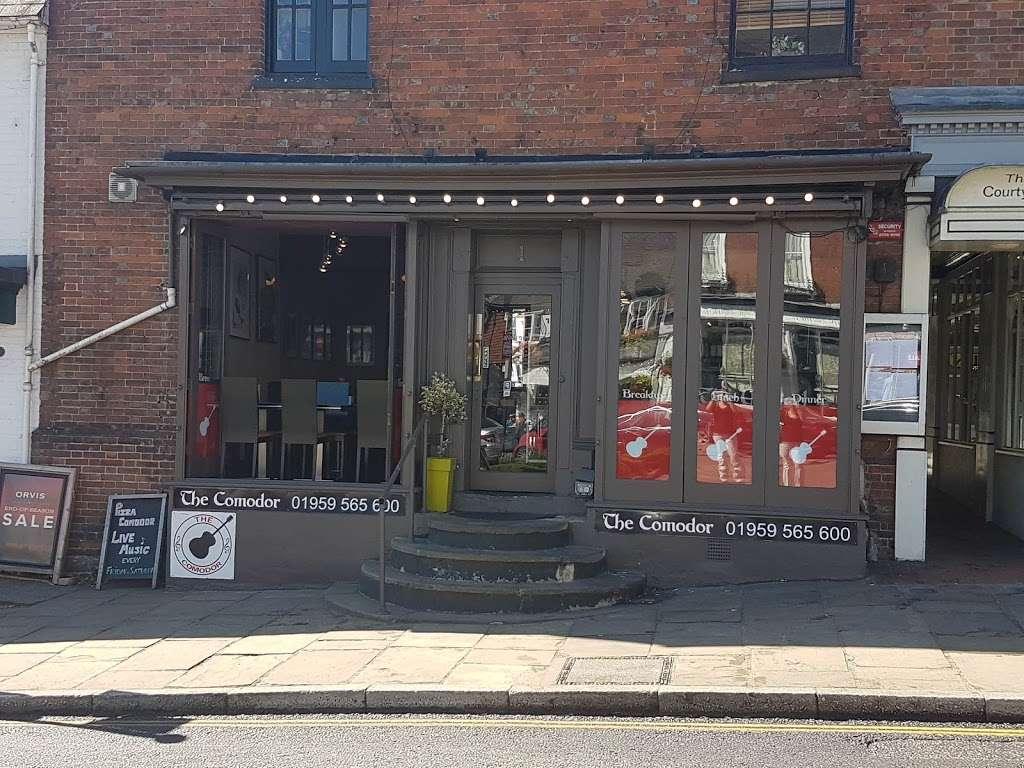 Pizza Comodor - restaurant  | Photo 6 of 6 | Address: 1 Market Square, Westerham TN16 1AN, UK | Phone: 01959 565600