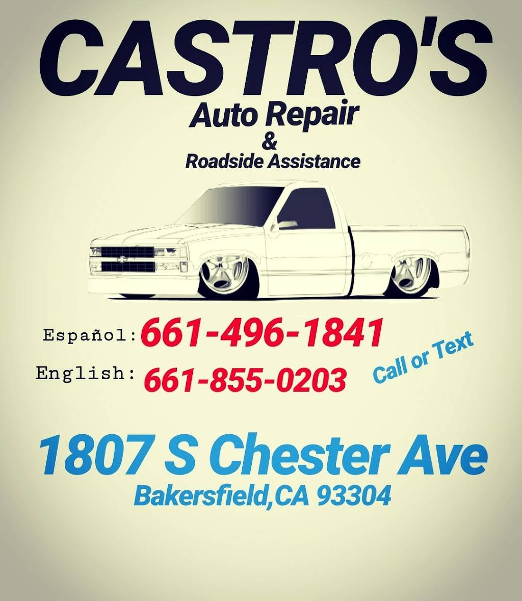 Castros Auto Diesel & Tire Repair - car repair  | Photo 10 of 10 | Address: 3910 S Chester Ave, Bakersfield, CA 93307, USA | Phone: (661) 855-0203