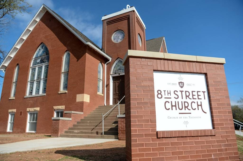 8th Street Church of the Nazarene - church    Photo 1 of 10   Address: 701 NW 8th St, Oklahoma City, OK 73102, USA   Phone: (405) 896-0283