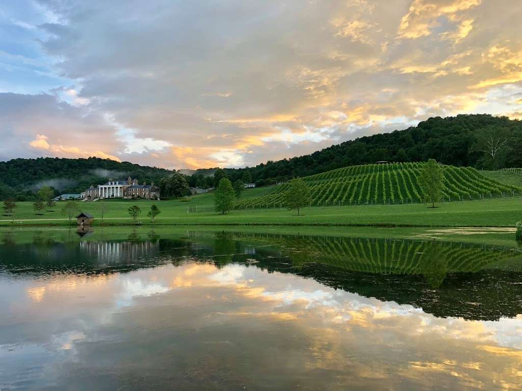 Muchas Uvas Winery - travel agency    Photo 1 of 10   Address: 116 High Meadow Manor LN, Flint Hill, VA 22627, USA   Phone: (202) 258-7095